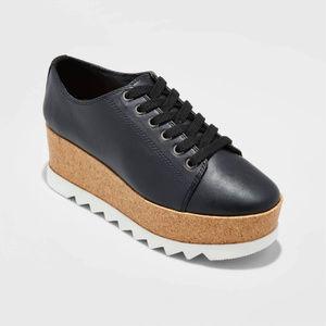 Mossimo Black Juniper Lace Up Platform Oxfords